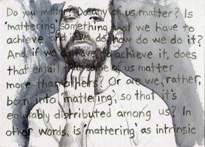 Mattering drawing